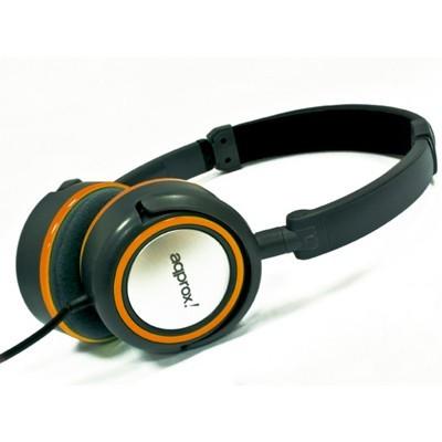 approx! Auriculares Stereo Hi-Fi Naranja