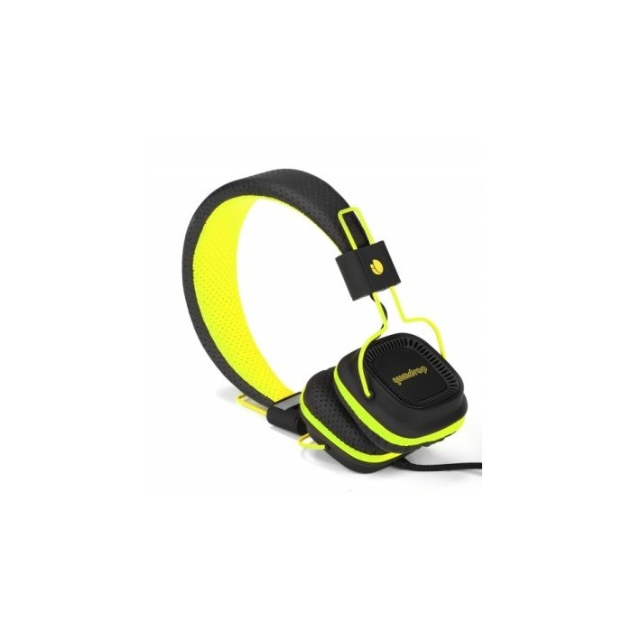NGS GUMDROP Auricular+Micro Amarillo