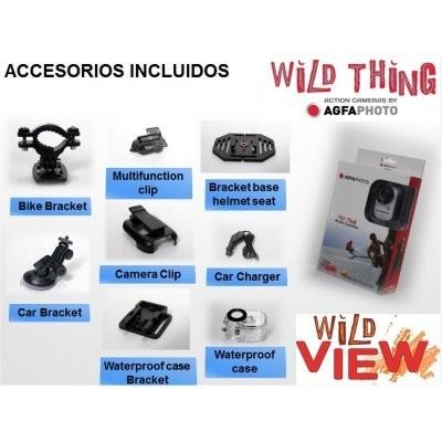 AGFA WILD VIEW FHD1080p 140º 12Mpx