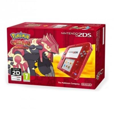NINTENDO 2DS ROJO+POKEMON RUBI