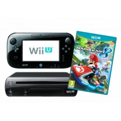 NINTENDO WiiU 32GB + MARIO KART 8