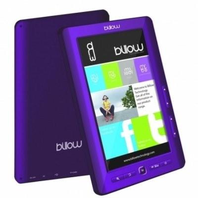 "Billow Color eBook reader 7"" 4GB Púrpura"