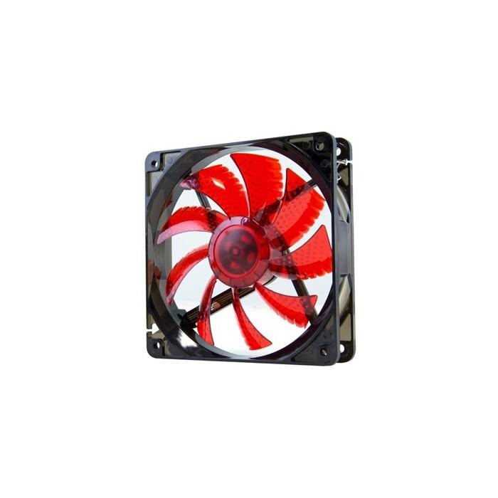 Nox Cool Fan 12cm Led Rojo