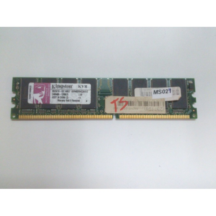 KINGSTON KVR400X64CA/512MB DDR 400MHZ