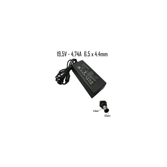 Cargador Sony 19,5V 4,74A 6.5x4.4