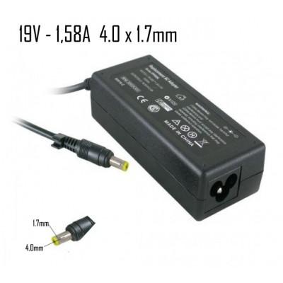 Cargador Hp 19V 1,58A 4.0X1.7mm