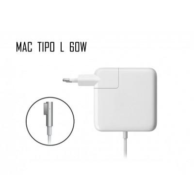 Cargador Apple 60W 16,5V 3,65A L
