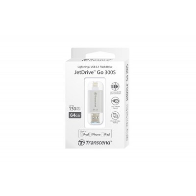 JetDrive Go 300 64GB LIGHTNING