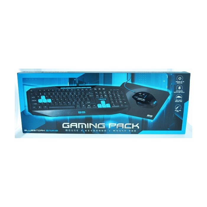 Combo Bluestork Gaming SP