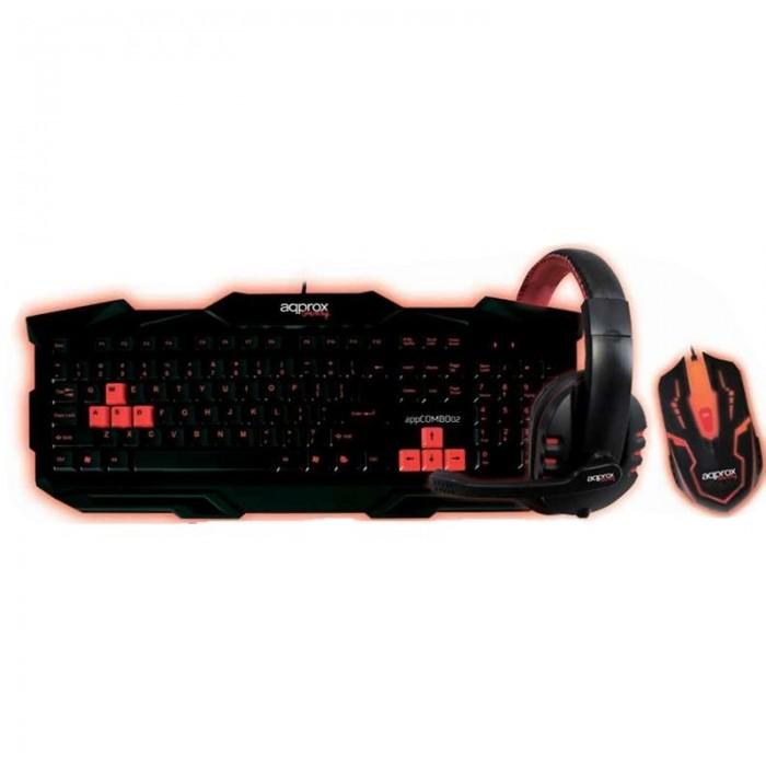 Kit Gaming Teclado+Ratón+Auricular