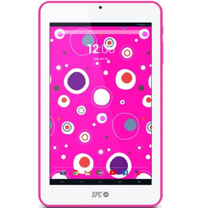 "Tablet 7"" Spc GLOW QC Rosa"