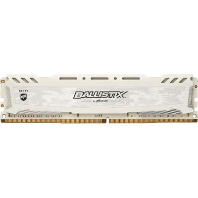 Ballistix Sport LT 8GB DDR4 2400MHz Blanca