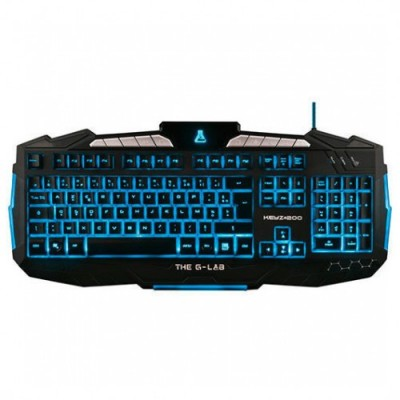 Teclado THE G-LAB KEYZ200/SP
