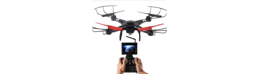 Dron con cámara FPV